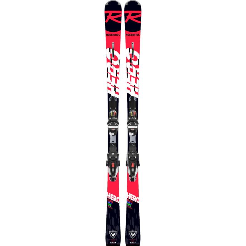 Pack de Ski Rossignol HERO ELITE MT CA + Fixations NX12 K.GW BI Rouge Homme