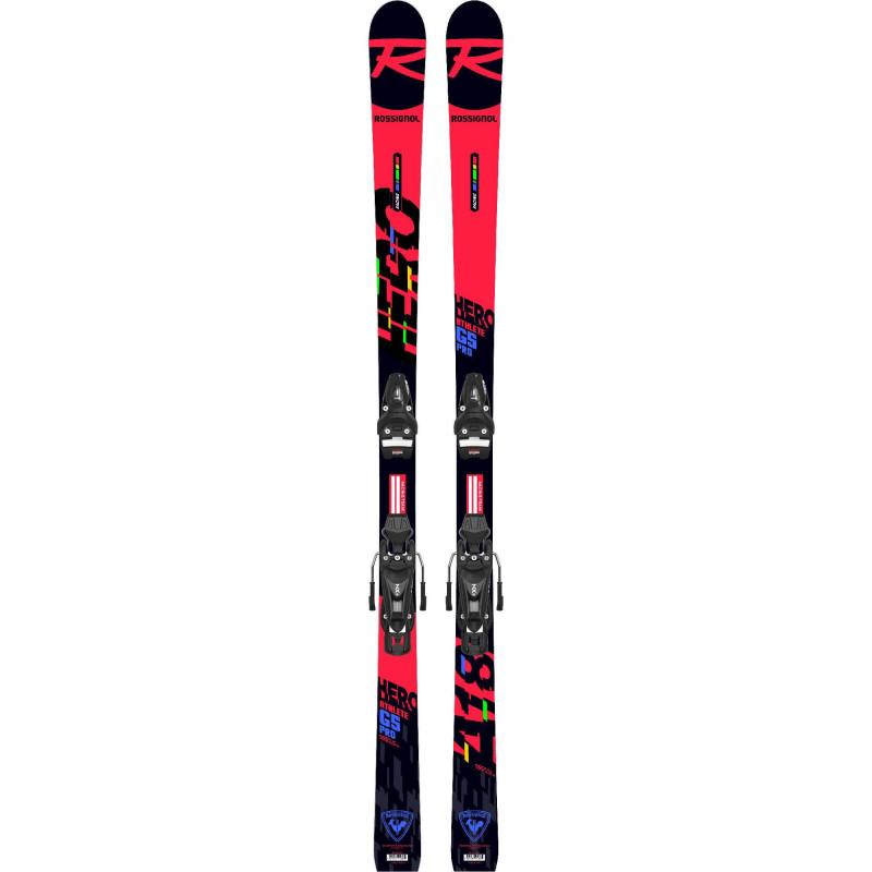 Pack Ski Rossignol Hero Ath. Gs Open + Fixations Nx7 Gw Rtl Garçon
