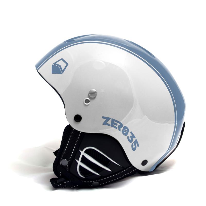 Casque de Ski/Snow ZERO35 Easy Blanc/Bleu