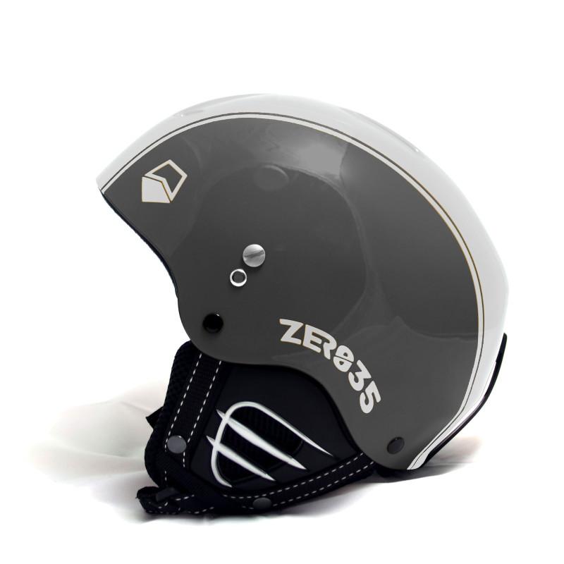 Casque de Ski/Snow ZERO35 Easy Antracite/Blanc