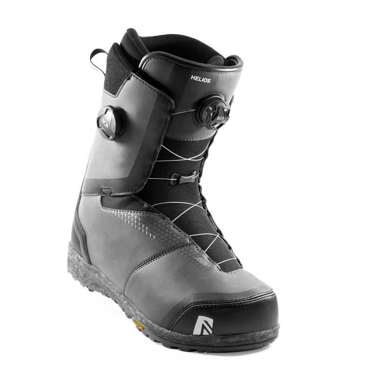 Boots de Snowboard Nidecker HELIOS BOA Homme Gris