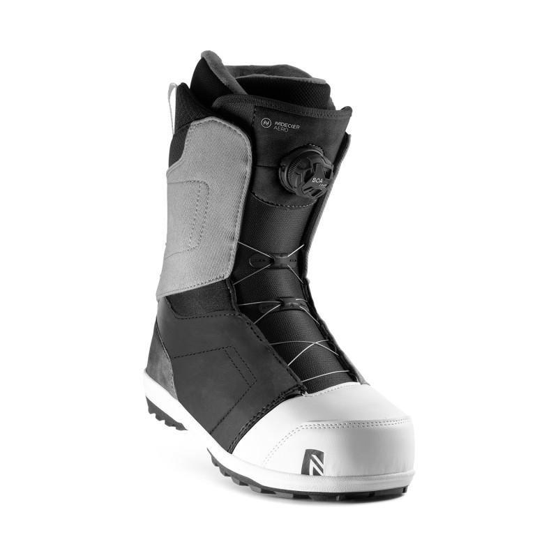Boots de Snowboard Nidecker AERO BOA Homme Gris