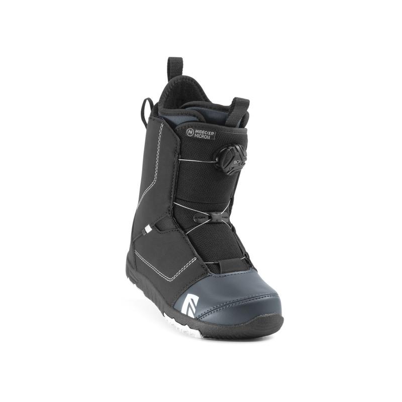 Boots de Snowboard Nidecker MICRON BOA Enfant Noir