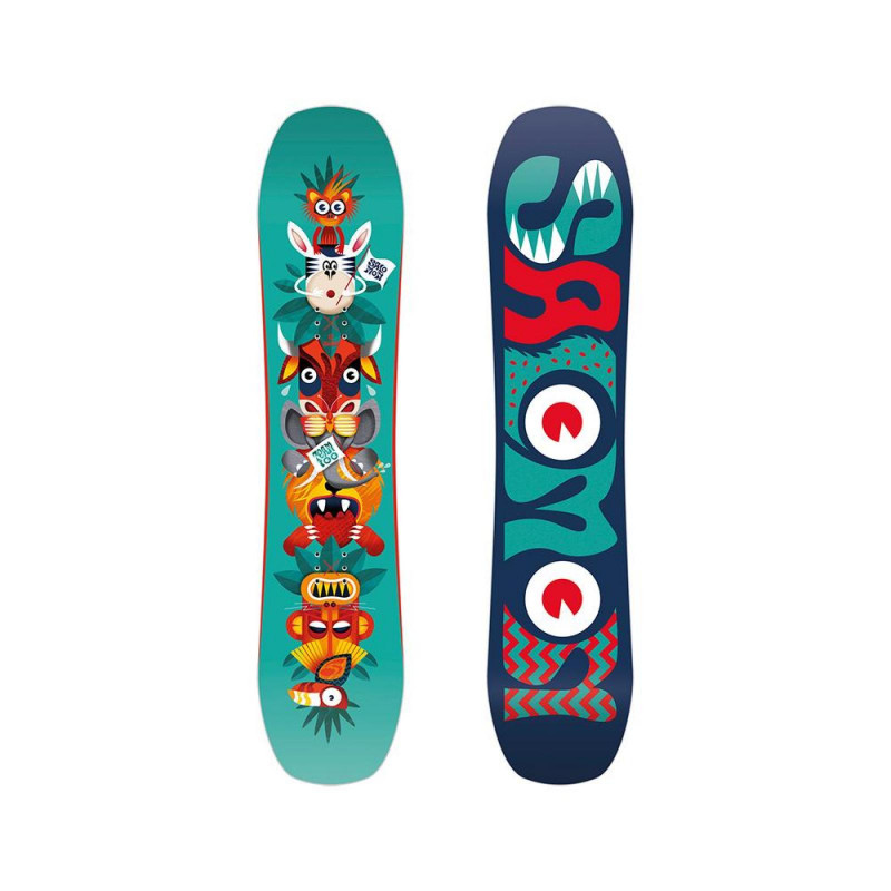 Planche de Snowboard Salomon TEAM Noir Garçon