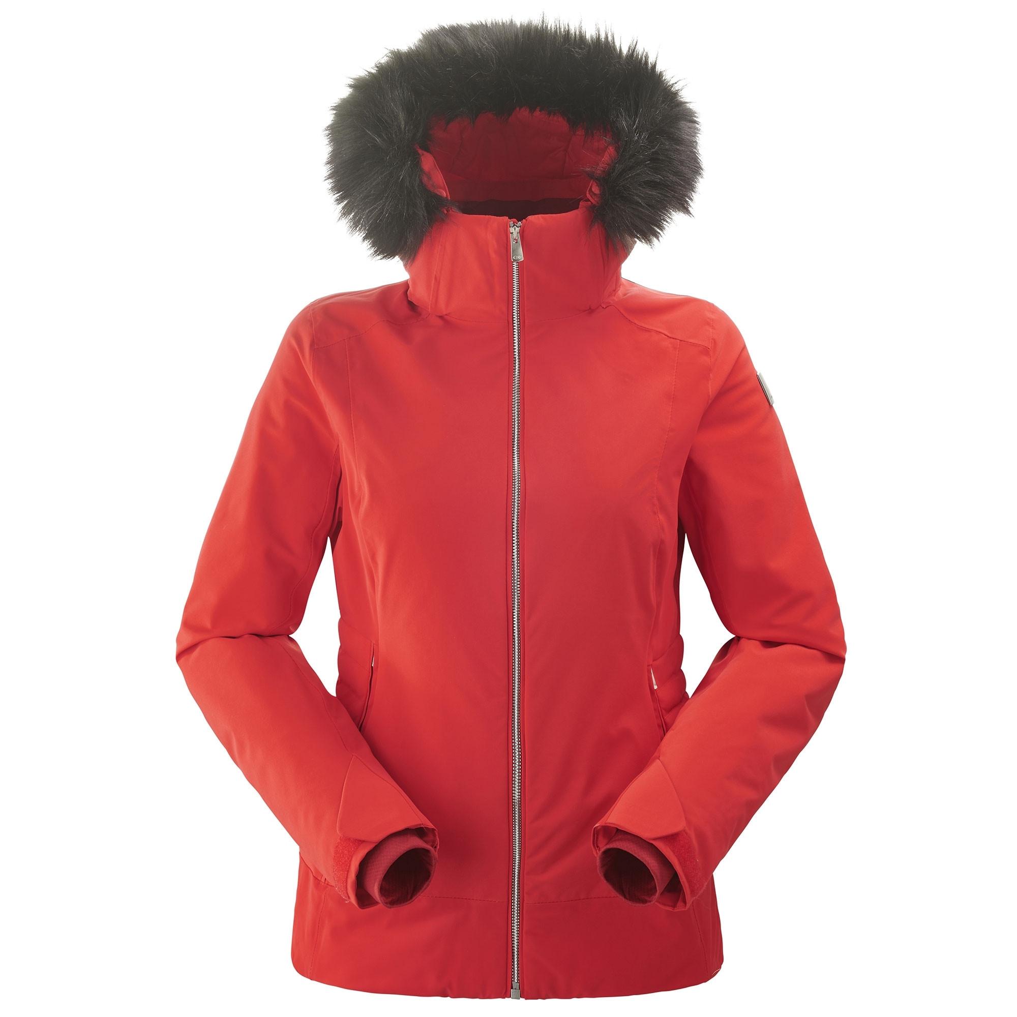 en soldes e85cb b83be Veste De Ski Eider Squaw Valley Fur 2.0 Rouge Femme