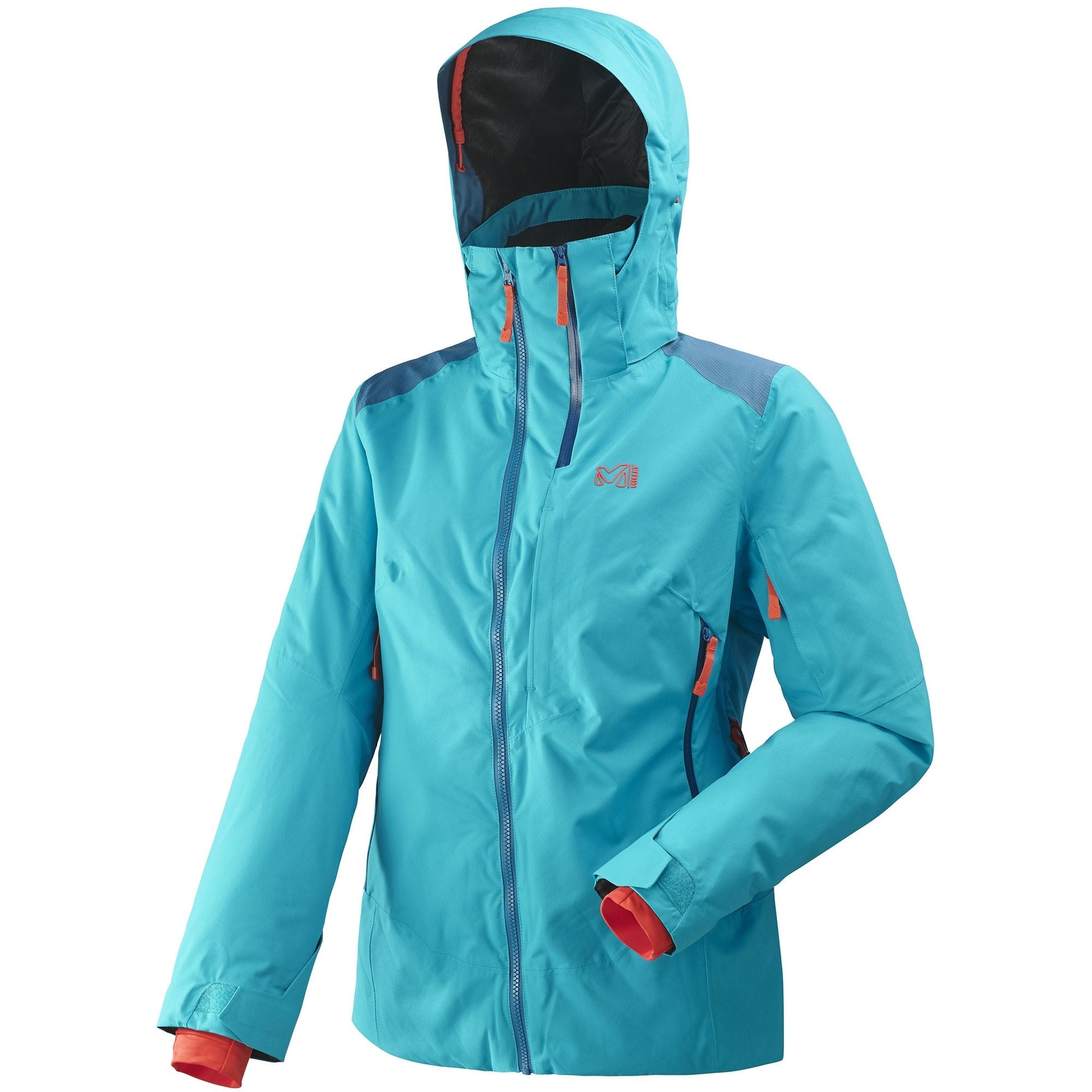 Stretch Veste Ski Femme De Bleu 724 Millet nOmNwv80