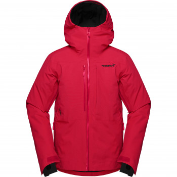 Veste de Ski/Snow Norrona lofoten Gore-Tex  insulated Jacket True Red Homme