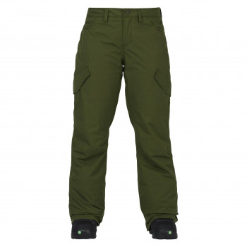 Pantalon De Ski/Snow Burton Fly Rifle Vert Femme