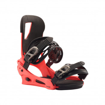 Fixations de Snowboard Burton CARTEL RED