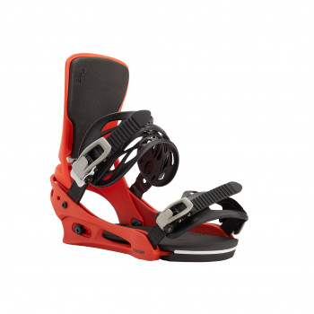 Fixations de Snowboard Burton Cartel Bright Red Homme