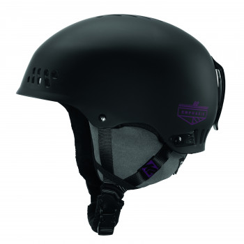 Casque de ski K2 Emphasis Black Femme