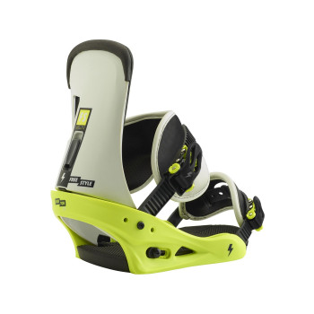 Fixations de Snowboard Burton FREESTYLE MTN DUDE GREEN