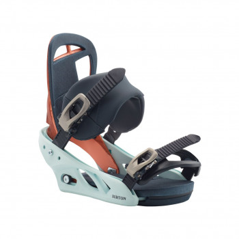 Fixations de Snowboard Burton SCRIBE WOOD GRAIN JANE