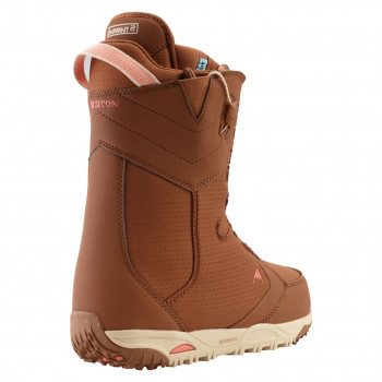 Boots de Snowboard Burton LIMELIGHT BROWN Femme Marron