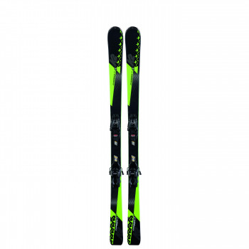 Pack Ski K2 CHARGER JR + Fixations  FDT 7 Enfant Noir