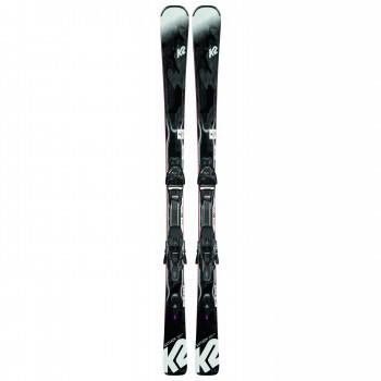 Pack Ski K2 ANTHEM 72TI + Fixations ERC 11 TCX LIGHT QUIKCLIK Femme Gris