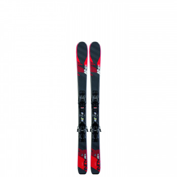 Pack Ski K2 INDY + Fixations 4.5 FDT JR Enfant Noir
