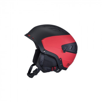 Casque de Ski/Snow K2 DIVERSION black/red Homme