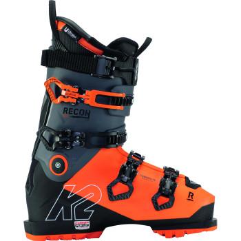 Chaussures de Ski K2 Recon 130 Lv Gripwalk Orange-Black Homme