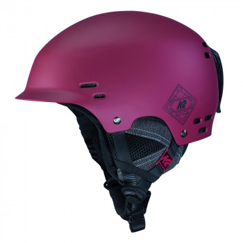 Casque de Ski/Snow K2 THRIVE deep red Homme
