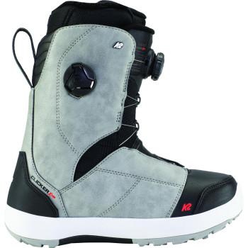 Boots de Snowboard K2 Kinsley Clicker X Hb Grey Femme