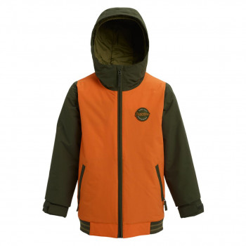 Veste de Ski/Snow Burton Game Day Vert Enfant