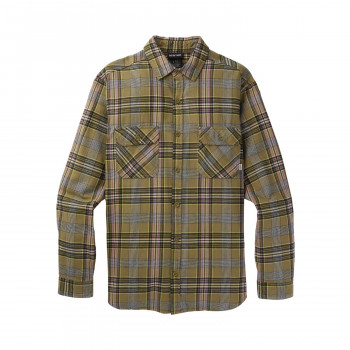 Chemise Burton Brighton Flanelle Martini Olive Somers Homme