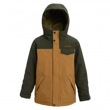 Veste de Ski/Snow Burton Dugout Orange Enfant