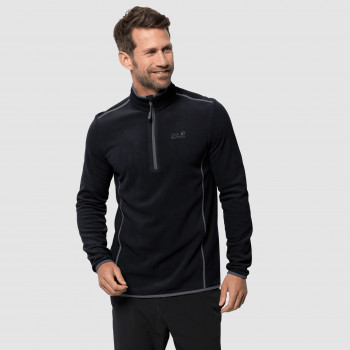 Pull Polaire Homme Jack Wolfskin Echo Black
