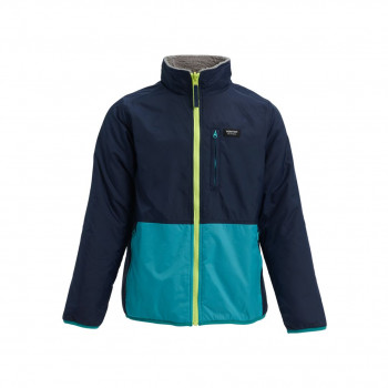 Veste de Ski/Snow Burton Snookt Reversible Fleece Bleu