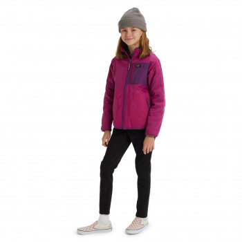 Veste de Ski/Snow Burton Snookt Reversible Fleece Rouge