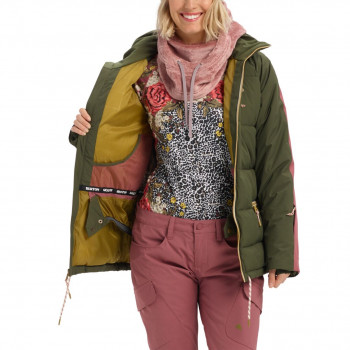 Veste de Ski/Snow Burton Keelan Vert Femme