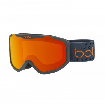 Masque de Ski/Snow Bollé Rocket Plus Matte Dark Grey & Orange Sunrise