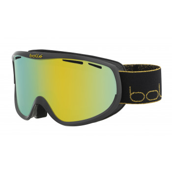 Masque de Ski/Snow Bollé Sierra Shiny Black/Gold