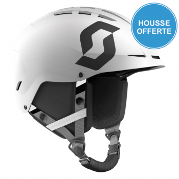 Casque de Ski/Snow Scott Apic Plus white matt