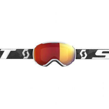 Masque de Ski / Snow Scott Faze II white/black enhancer red chrome