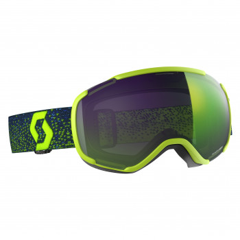 Masque de Ski / Snow Scott Faze II yellow enhancer green chrome