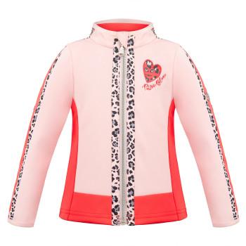Veste Zip Poivre Blanc 4702 Angel Pink Spritz Red Fille