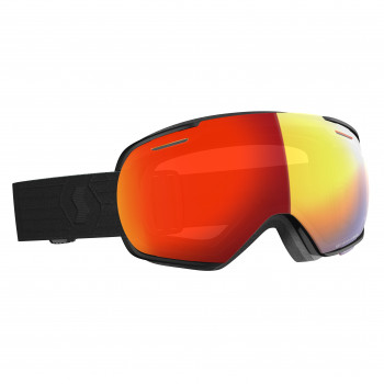 Masque de Ski/Snow Scott Linx LS black/light sensitive red chrome Cat 1-2 a 3
