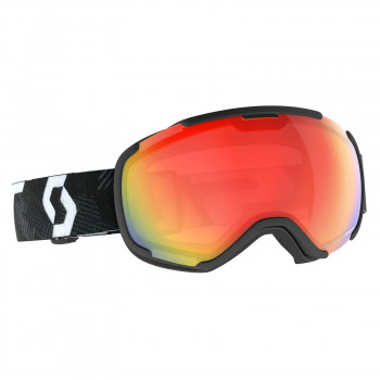 Masque de Ski / Snow Scott Faze II Light Sensitive team black/white / light sensitive red chrome