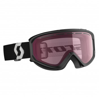 Masque de Ski/Snow Scott Fact black/illuminator Cat-2