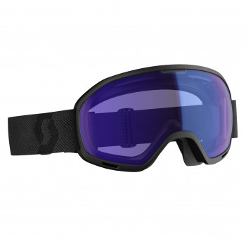 Masque de Ski/Snow Scott Unlimited II OTG Illuminator black/illuminator blue chrome Cat-1