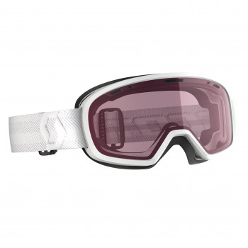 Masque de Ski/Snow Scott Muse Pro OTG white/illuminator Cat-1