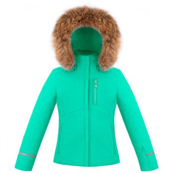 Veste De Ski Poivre Blanc 0802 Emerald Green Fille