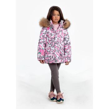 Veste Poivre Blanc 1201 Pink Camou Fille