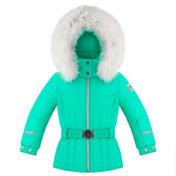 Veste De Ski Poivre Blanc 1002 Emerald Green Fille