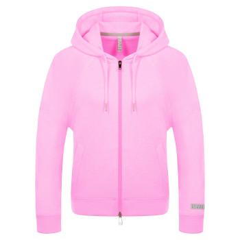 Veste a Capuche Poivre Blanc 5200 Bubble Pink Femme
