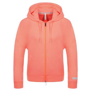 Veste à capuche Poivre Blanc 5200 Candy Orange Femme