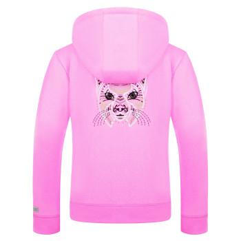 Veste a Capuche Poivre Blanc 5201 Bubble Pink Femme