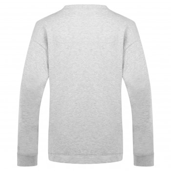 Pull Poivre Blanc 5240 Melange Grey Femme